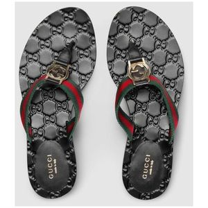 Gucci GG Thong Wed Sandals